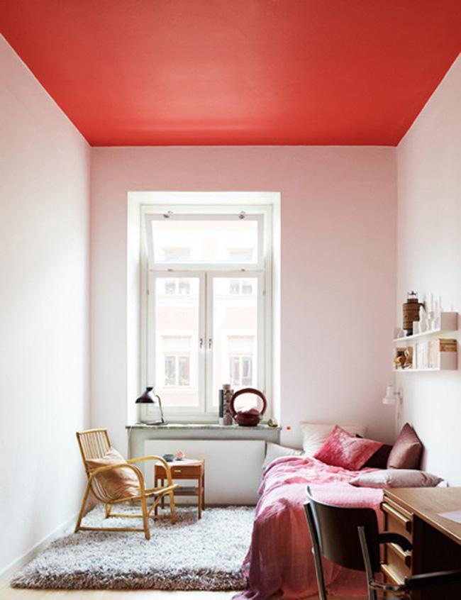 Teto pintado a casa que a minha v queria - Cucina birichina quarto ...