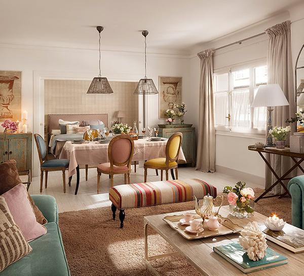 Um ap com decora o rom ntica incr vel de linda a casa for Casas estilo romantico